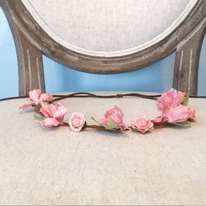 ROSE BUD FLOWER CROWN